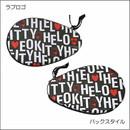 ハローキティコラボラケットケース(Love Logo)