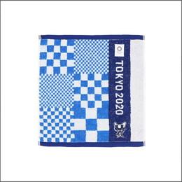【東京2020】オリンピックマスコット刺繍ウォッシュタオル