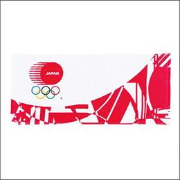 【東京2020】オリンピックJOCがんばれ!ニッポン!WT(2枚組)レッド
