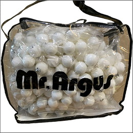 プラスチックボール プラワンABS(720球入り)ショルダーバッグ付き
