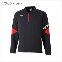 ライトスウェットシャツ(ハーフジップ)62JC0510