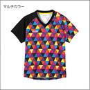 カラフルトライアングルゲームシャツ